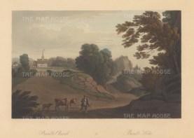 "Boydell: Bamble, Norway. 1820. An original colour antique aquatint. 14"" x 10"". [SCANp294]"