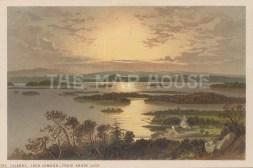 "Nelson: Loch Lomand. 1890. An original antique chromolithograph. 5"" x 4"". [SCOTp1687]"