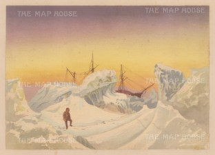 H.M.S.Alert within the icebergs: From the Expedition of H.M.S.Alert 1875/77.