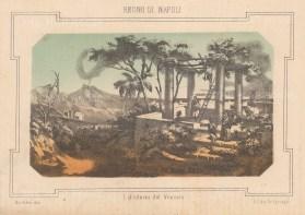 """Pagnoni: Naples. c1850. An original antique lithograph. 8"""" x 6"""". [ITp2056]"""