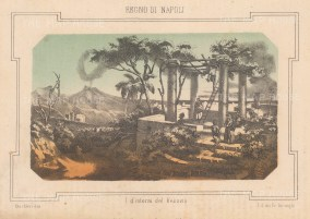 "Pagnoni: Naples. c1850. An original antique lithograph. 8"" x 6"". [ITp2056]"