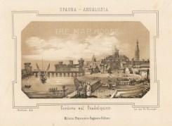 "Pagnoni: Cordoba. c1863. An original tinted antique lithograph. 6"" x 4"". [SPp1081]"