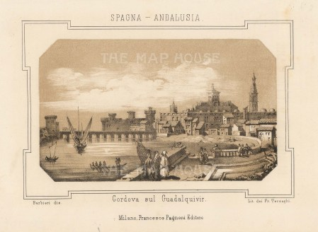 Cordova sul Guadalquivir.