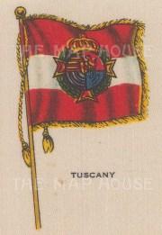 "Cigarette Cards: Italy, Tuscany. c1910. Original printed colour on silk. 2"" x 3"". [ARMp122]"