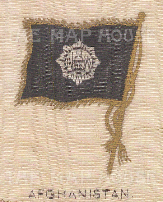 Flag of the Emirate and Kingdom of Afghanistan under King Amanullah.