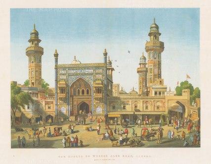 Lahore. Mosque of Wuzeer Alee Khan.