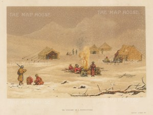Himalayas: We Encamp in a Snow Storm. After the first Western artist to depict the Eastern Himalayas during a perilous 600 mile journey.