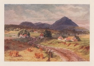 Owl's head Mountain: View from the road.