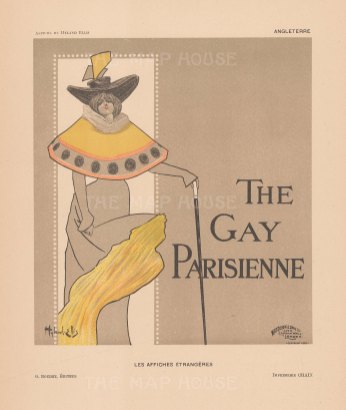 Gay Parisienne: Cover by Hyland Ellis.