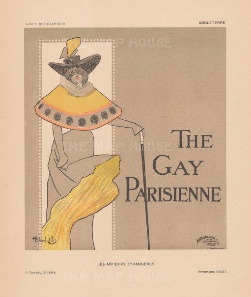 Gay Parisienne: Cover by Hyland Ellis.