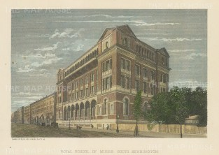 Royal School of Mines. South Kensington. Imperial College.