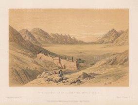 Mount Sinai: St. Catherine's Convent.