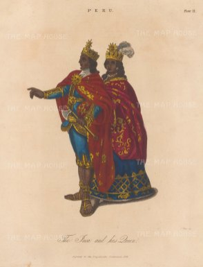 Peru: The Incan King and Queen.