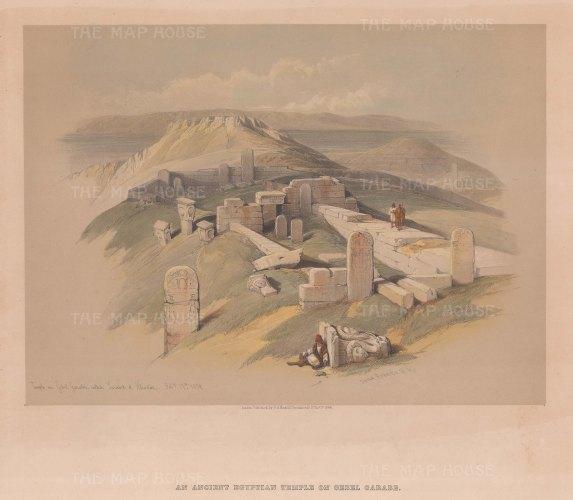 Gebel Garabe: Temple of Hathor (Serabit el-Khadim)