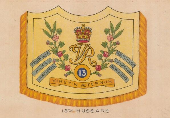 13th Hussars, amalgamated to the 13/18 Royal Hussars.