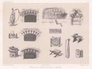 "de Hell: Diyarbakır. 1853. An original antique lithograph. 17"" x 12"". [TKYp1170]"