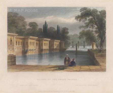 Caglayan Palace: At the Sweet Waters of Europe (Kagıthane).