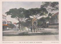 """West India Committee: Georgetown, Guyana. c1900. A hand coloured original antique photo-lithograph. 8"""" x 5"""". [SAMp959]"""