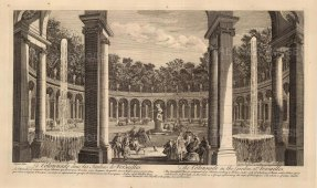 View of the Colonnade, and the rape of Proserpine by Francoise Girardon.