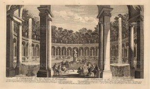Versailles: View of the Colonnade, and the rape of Proserpine by Francoise Girardon.