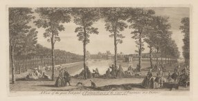 Fontainebleau: View of the Fish Pond and the Court of Fountains.