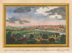 "Hogg: Paris. 1793. A hand coloured original antique copper engraving. 10"" x 6"". [FRp1630]"