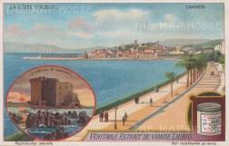 Cannes: Vignette of Chateau Honorat.
