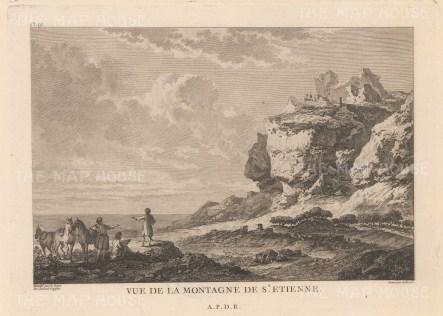 Santorini: St Etienne Mountain.