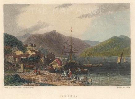 The port of Vathi.
