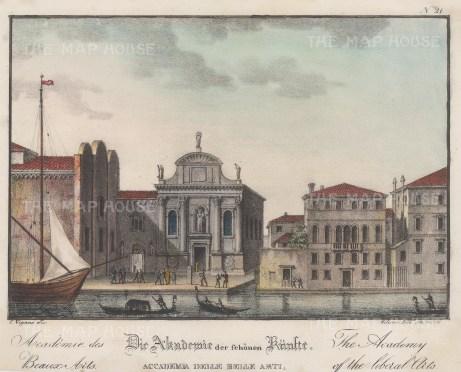 Venice: Accademia di Belle Arti. At the Scuola della Carita