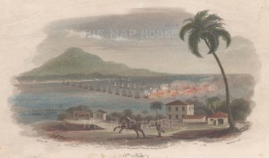 St. Kitt's: Battle of Frigate Bay: American Revolutionary War, 1782.