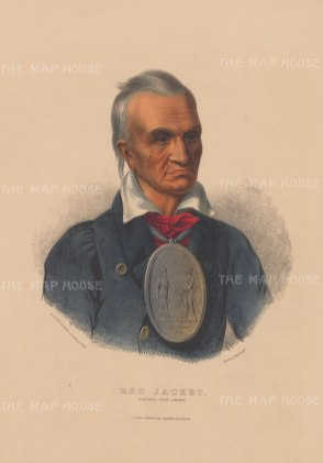 Red Jacket: Seneca War Chief.