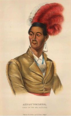 Ahyouwaighs (John Brant): Chief of the Six Nations and the first Native American to sit in Upper Canada's parliament as a lawmaker.