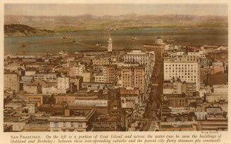 San Francisco: View looking toward Oakland and Berkeley