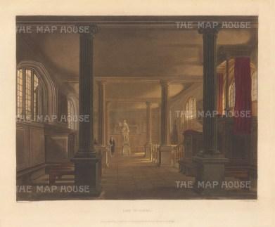 """Ackerman: Law School. 1815. An original colour antique aquatint. 10"""" x 8"""". [CAMBSp145]"""