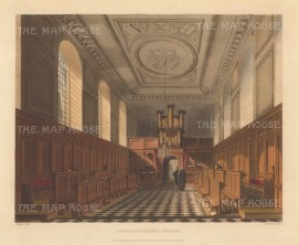 Interior of the chapel.