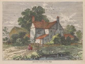 Notting Barn Farm, Notting Hill in 1830.