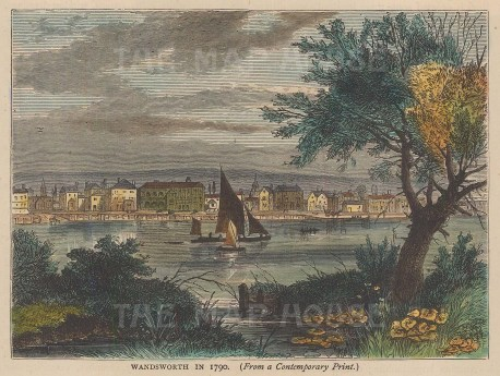 Wandsworth in 1790.