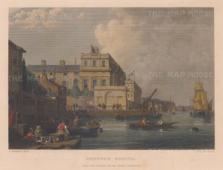Greenwich Hospital after George Chambers.