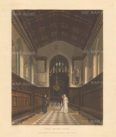 Chapel interior.