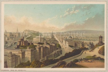 Panorama from Calton Hill.