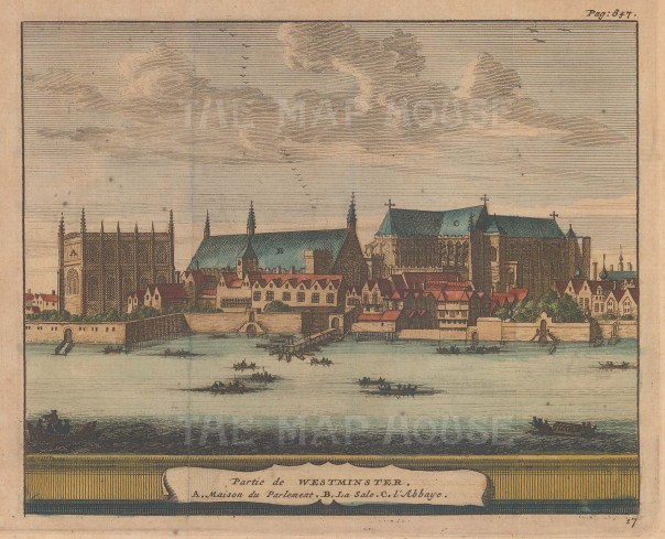 With Westminster Hall and Abbey.