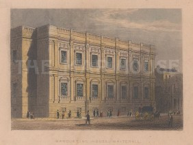 Banqueting Hall. View of the only remaining element of Whitehall Palace which burnt down in 1622.