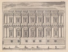 Banqueting House. Designed by Inigo Jones and the only part of the palace to survive the fire of 1698.
