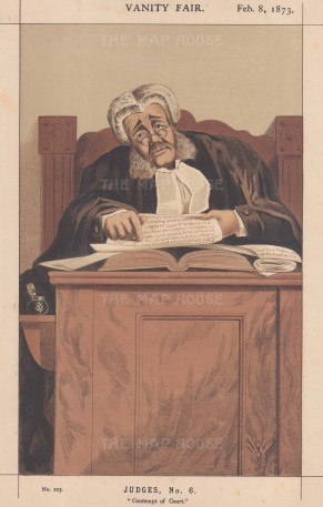 Contempt of Court. The Hon. Sir James Bacon, Vice-Chancellor and Chief Judge in Bankruptcy.