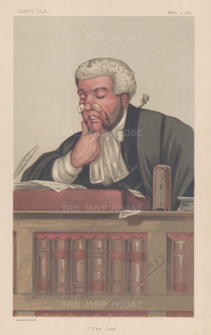The Law. Sir George Jessel, Master of the Rolls and member of the Privy Council.