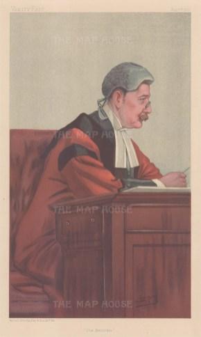 'The Recorder': Sir James Fulton, Recorder of London. SPY.