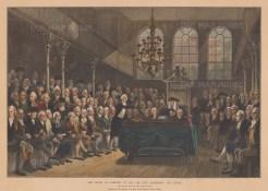 Mr. Pitt addressing the House in 1793.