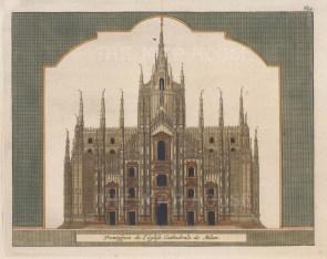 Front elevation of the Duomo di Santa Maria Nascente.