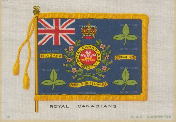 Prince of Wales's Leinster Regiment.